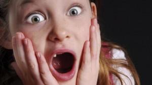 kid screaming