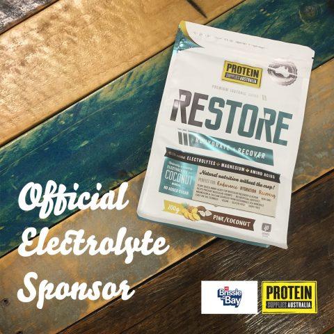 Official Electrolyte Sponsor Brissy2Bay